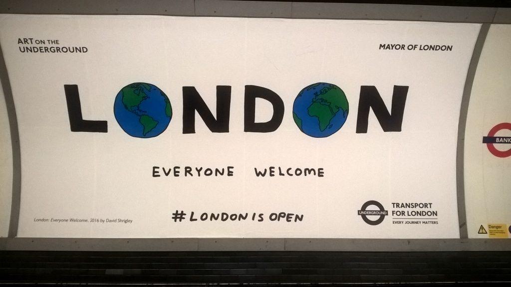 metro London Underground, pierwsze wrazenia